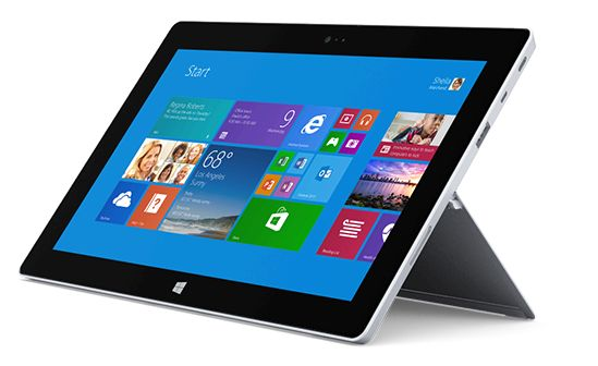 Tablet surface 21